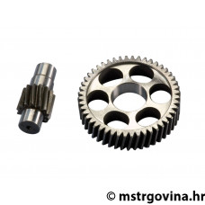 GEAR + SHAFT PIAGGIO