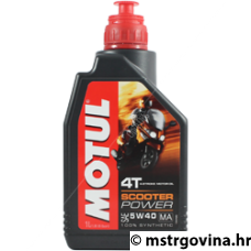 MOTUL Scooter Power 4T - 5W40 - 1L