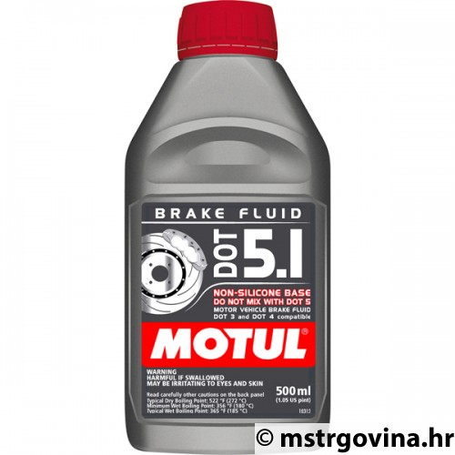 MOTUL DOT 5.1 Brake Fluid - 0.5L