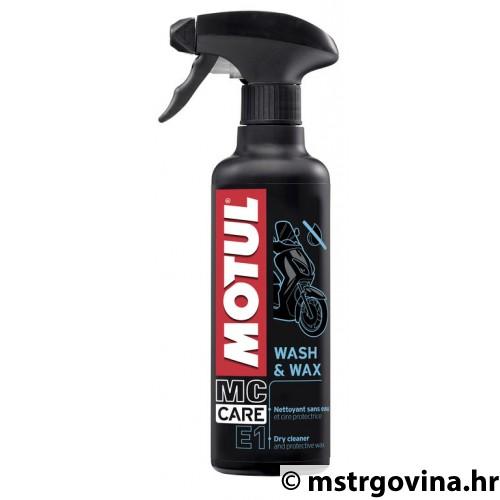 MOTUL Wash & Wax - 400mL