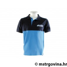 Polo shirt Polini EVO men's navy/light plava/i veličina XL