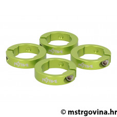N8tive locking ring set za lock-on grips - zelena