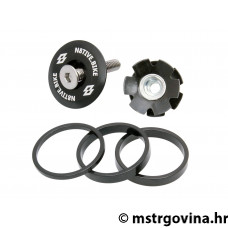 N8tive distancer kit sa headset cap - crna/i