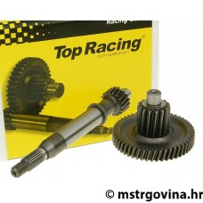 Getriba kit Top Racing +17% 18/50 za Kymco, Kina 50 4-t