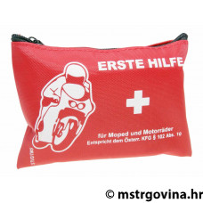 First aid kit pouch za motocikl, geared bike, skuter