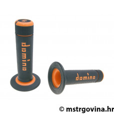 Ručke volana set Domino A020 off-road black-orange