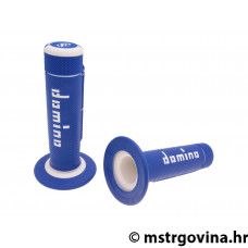 Ručke volana set Domino A020 off-road blue-white