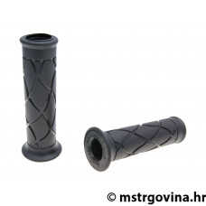 Gumene ručke volana set Domino 3393 skuter black, open end grips 120mm
