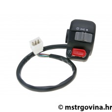 Desni switch assy za E-starter, sa light switch za Peugeot Squab