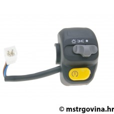 Desni switch assy za E-starter, sa light switch za MBK Skyliner, Yamaha Majesty 98-00