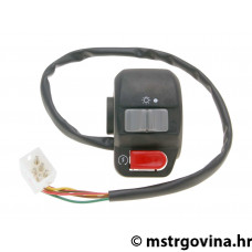 Desni switch assy za E-starter, sa light switch za Aprilia Scarabeo 50 97-06