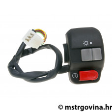 Desni switch assy za E-starter, sa light switch - univerzal