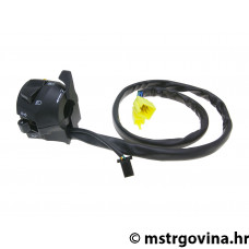 Lijevi switch assy indicator, high / low beam, horn, poluga čoka za MBK X-Power, Yamaha TZR