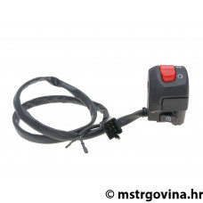 Desni switch assy za E-starter, sa light switch za Derbi GPR Naked, Nude 50, 125