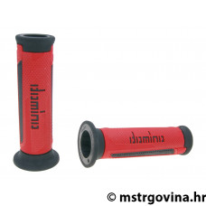 Ručke volana set Domino A350 on-road red-black open end grips