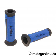Ručke volana set Domino A350 on-road blue-black open end grips