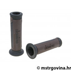 Ručke volana set Domino A350 on-road brown-black open end grips