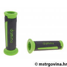 Ručke volana set Domino A350 on-road anthracite-green open end grips