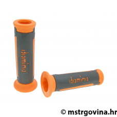 Ručke volana set Domino A350 on-road anthracite-orange open end grips