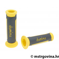 Ručke volana set Domino A350 on-road anthracite-yellow open end grips