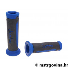 Ručke volana set Domino A350 on-road anthracite-blue open end grips