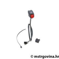 Switch jedinica volan motor stop / kill switch crvena/i - univerzal