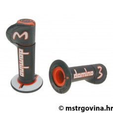 Ručke volana set Domino A230 off-road black-orange-grey