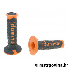 Ručke volana set Domino A260 off-road black-orange