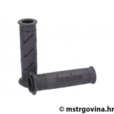 Ručke volana set Domino A250 on-road antracit / crna/i open end grips