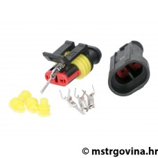 Electrical wiring repair / connector kit nepropusna 2-pin