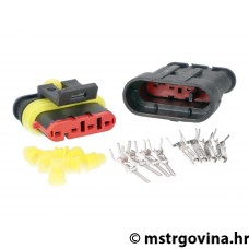 Electrical wiring repair / connector kit nepropusna 4-pin