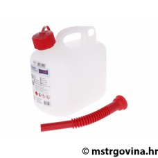 Fuel can 5L sa flexible spout