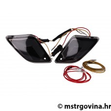 Indicator set stražnji Power1 LED crna/i tinted za Vespa GT, GTL, GTV, GTS 125-300
