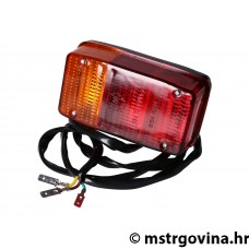 Štop svjetlo sa number plate light i cable za Vespa APE P50, CAR, APE 400, 401, 501, 601