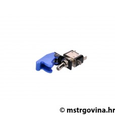 Switch sa safety cap i LED - plava/i