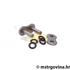 Lanac master link joint rivet-style AFAM XS-Ring ojačan/a crna/i - A525 XMR3