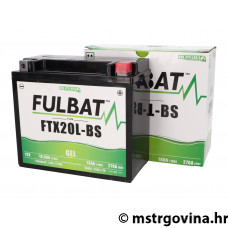 Battery Fulbat FTX20L-BS GEL
