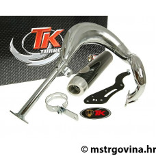 Auspuh Turbo Kit Bajo RQ krom E-oznaka za Suzuki Street Magic