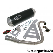 Auspuh Turbo Kit GMax 4T E-oznaka za SYM Euro MX, VS 125cc