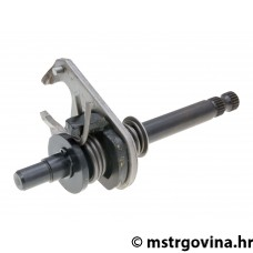 Gear shift shaft OEM za Minarelli AM6, Generic, KSR-Moto, Keeway, Motobi, Ride, 1E40MA, 1E40MB