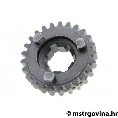 Fifth speed secondary transmission gear OEM 25 zuba za Minarelli AM6
