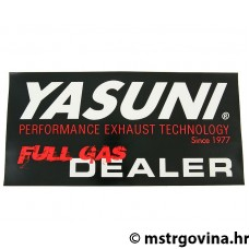 Naljepnica Yasuni Full Gas Dealer