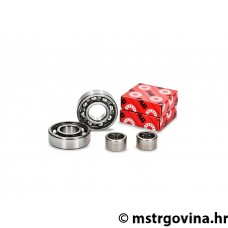 Gearbox bearing set VOCA Racing za Derbi EBE, EBS, D50B0