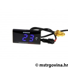 Temperature display VOCA Racing TEMP METER 0-120º C, plava/i