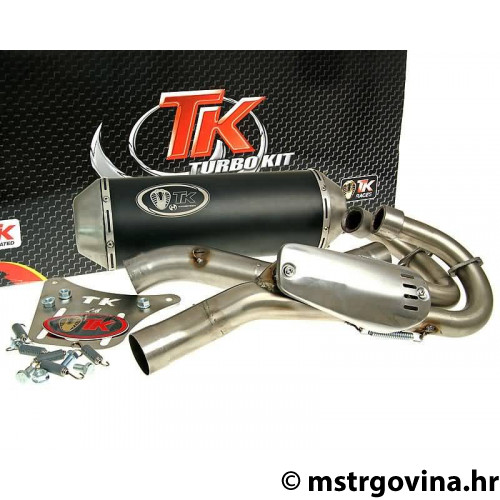 Auspuh Turbo Kit 2-u-1 Quad / ATV E-oznaka za Yamaha YFM 660R Raptor