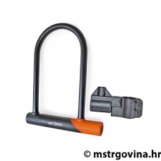 Lokot U-lock sa nosačem Urban Security 12U300 105x300mm, d=12mm