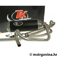 Auspuh Turbo Kit 2-u-1 X-Road E-oznaka za Hyosung GT125